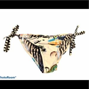 Volcom Hawaiian Bikini bottoms Turtle Sea Shall S